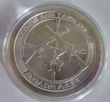 2013 Silver Bullet Silver Shield AG-47 1oz .999 Silver Bullion Round