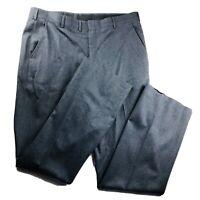 HART SCHAFFNER MARX 100% Pure Virgin Wool Charcoal Gray Dress Pants 38 x 34