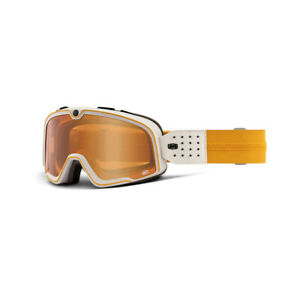 100% Barstow Bicycle Cycle Bike Goggle Oceanside / Persimmon Lens