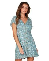 Billabong BNWT French Blue Summer Dress Women's Size 10 RRP $89.95