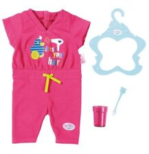 Zapf Creation Baby Born Deluxe Jumpsuit Clothing Set & Accessories *BRAND NEW*
