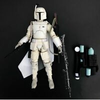 "Star Wars Bounty Hunter White Boba Fett Wrong Accessories 6"" Loose Action Figure"