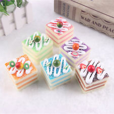 KAWAII Cartoon Multi-colore Ciondolo Squishy Cake Roll/Ciondolo Cellulare Cinghie JB