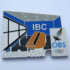 2012 London Olympic IBC OBS Broadcaster Media Pin