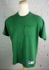 Vintage 80s 90s Russell Blank Plain Pocket T Shirt Faded Thin Distressed Xl Work