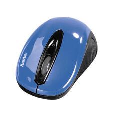 Hama AM-7300 Schwarz Himmelblau Optische Funkmaus 1000 dpi