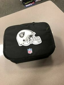 NFL Football Lunchbox  Insulated Lunch Box New with Tags Oakland Raiders