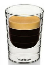 Nespresso Double Wall Espresso Glasses - Heat Resistant Coffee Mug Glass X6 B