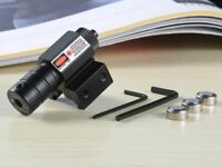 Viseur laser point rouge Tir Chasse Airsoft piles lithium / Red Dot Sight Laser