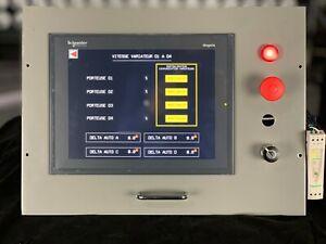 "Schneider XBTGT6330 Magelis Advanced Panel 12.1"" Color Touch Panel TFT"