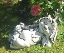 Kobold, Steinfigur, Gartenfigur, Gartendeko  Gnom ,Troll F0182