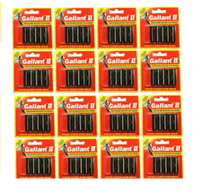 80 Gallant II Blades fit Gillette Schick Trac Plus Razor Twin Cartridges Refills
