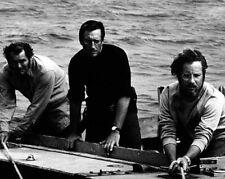 1975 JAWS movie Roy Scheider & Richard Dreyfuss Glossy 8x10 Film Photo Poster