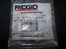 New Ridgid 42777 set of (5) Bearings Ridgid 918-I  INTEGRAL ROLL GROOVER.