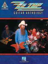 ZZ TOP - GUITAR ANTHOLOGY TAB SONG BOOK - BILLY GIBBONS