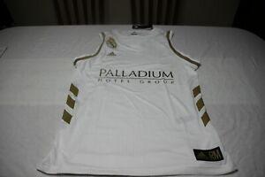 Kit Official Basketball Real Madrid Adidas Size L Palladium Hotel