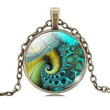 SPIRAL MOLECULE PENDANT NECKLACE / Jewellery Gift Idea Biology Chemistry Science