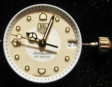 Lady's TAG Heuer Calibre 3 Automatic Wrist Watch Movement with Dial & Hands