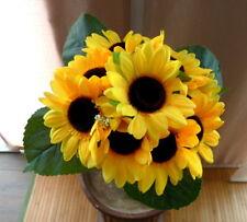 Sonnenblumenstrauß /  Seidenblumen - Blumenstrauß  Sonnenblumen