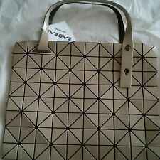 ISSEY MIYAKE Baobao New unused Beige tote bag made in Japan