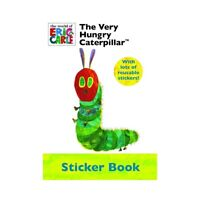 The Very Hungry Caterpillar Libro de Pegatinas & Fiesta Favor Actividad Set