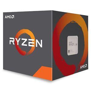 AMD Ryzen 3 5 7 2200G 2400G 2600X 2700X Processor AM4 Desktop Computer CPU