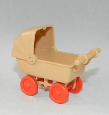 Playmobil Kinderwagen beige Villa Puppenhaus rosa Serie 5300 5301 5305 #35592