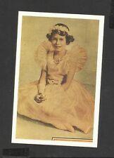 Nostalgia Postcard Coronation Calendar Princess Elizabeth Aged Eleven 1937