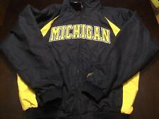 University of Michigan Stadium Jacket Colosseum Athletics Men's Size XL