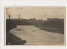 The Waterfalls Radcliffe Manchester Vintage RP Postcard Evans 429b