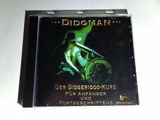 ?DIDGMAN - CD - wie Neu?Der Didgeridoo Kurs Für Anfänger und Fortgeschrittene?