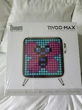 Tivoo-Max by Divoom 2.1 Subwoofer Pixel Art Speaker In White.