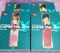 USED LUPIN THE 3RD Y Manga Comic Complete Set Lupin Mine Fujiko Jigen Goemon