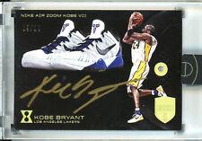 2017-18 Kobe Bryant Panini Eminence AUTO (9/10) NIKE Air Zoom Kobe VII *DIAMOND*