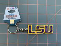 LSU Keychain Louisiana State University NCAA Team Logo Tigers Joe Football