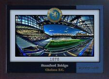 Stamford Bridge football stadium Chelsea Football Club Fulham London FRAMED