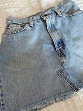 Original Levis Denim A-Line Skirt Size 27