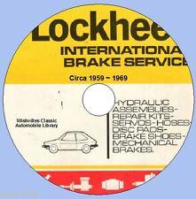 A Catalogue of Lockheed Brake Parts   circa 1959 ~ 1969 DVD ROM