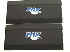 2  Bicycle Neoprene Velcro Chain Stay Frame Protector Accessories Suits Fox