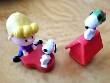 2015 Happy Meal Toy Peanut Movie #9 Schroeder & Snoopy #3 Flying Ace Snoopy