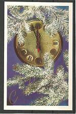 UdSSR Ukraine 1983 Clock 2 minutes of the New Year Christmas tree MC MK USSR New