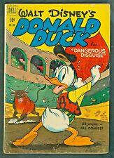 """Walt Disney's Donald Duck Four Color #308-""""Dangerous Disguise"""" Carl Barks 1950"""