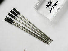 5pcs JINHAO BLACK for CS Style Type Ballpoint Pen ink Refills