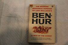 Ben Hur by Lew Wallace, paperback, 1959, like new
