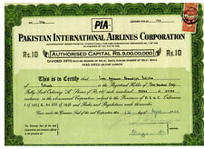 Pakistan International Airlines Corporation - August 1967