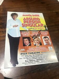 Autograph (signed Handbill) Carol Harrison Absurd Person Singular Bournemouth
