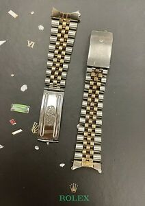 Rolex Datejust 36mm Mens 18k Yellow Gold/Steel Jubilee Band 62523H 16233 N/A END