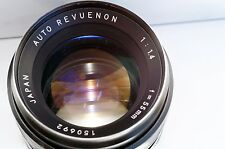 M42 Auto Revuenon 1.4/55 CLA'd Tomioka flat rear clone, tested A7: TOP, Remarks