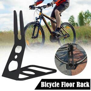 Bicycle MTB Road Bike Rack Storage Stop Stand Stable Floor Parking Portable