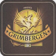 beer coaster GRIMBERGEN from Latvia (small 93x93) #1